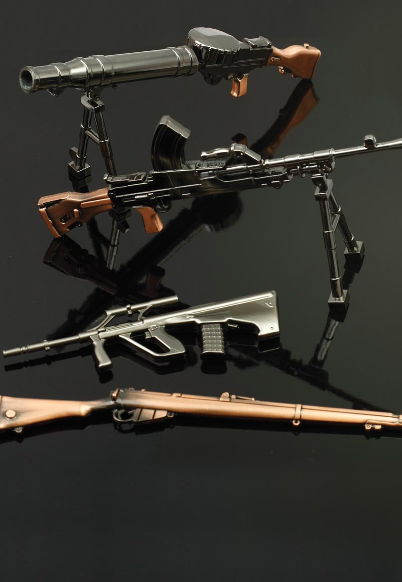 Miniature Australian Military Firearms