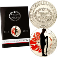 Armistice Day Commemorative Coin