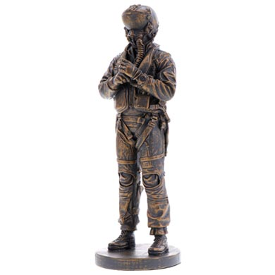 Air Force Pilot Miniature Figurine