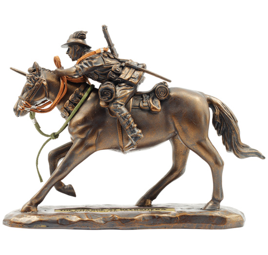 Charge at Beersheba Miniature Figurine